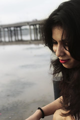 Misery Business (Atharva Abhay Patil) Tags: bridge girl riverfront ahmedabad sabarmati