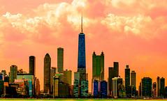 Chicago Skyline 2012