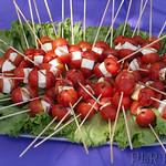 Tomatoes and mozzarella thumbnail