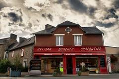 HDR - Bretagne Août 2012 - Notre boucher de Lancieux