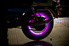 310/365. Wheels On Fire. (Anant N S) Tags: nightphotography india lightpainting photography cool nightlights wheels kitlens nike led motorbike motorcycle lighttrails 1855 nikkor pune wheelsonfire nikond3000 lensor anantns thelensor anantnathsharma