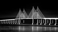 In -Full-Sail (petefoto) Tags: longexposure blackandwhite cold beach river landscape mud sails coastal filters foreshore severnbridge severnbeach polariser secondseverncrossing nd110 nikond700 gnd09s bestcapturesaoi leefilters09sgrad photographyforrecreationbwclassic