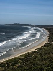 australia-11 (German Democratic Revolution Arts) Tags: ocean blue sea sky beach bay australia australien byron starnd