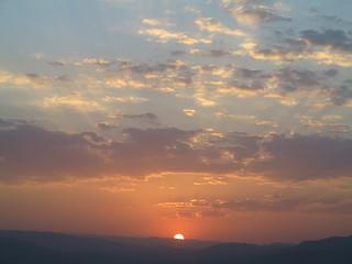 Sunset Evening Sonnenuntergang Shiraz Fars Province Iran