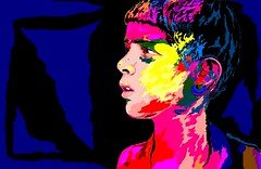 Color (Arunava from India) Tags: boy color art painting artwork drawing