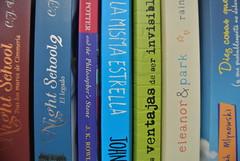 Books♡ (Natsuki R.) Tags: love book books shelf nightschool theperksofbeingawallflower thefaultinourstars eleanorandpark