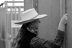 Horsewomen (heiko.moser) Tags: street portrait people bw streetart blancoynegro canon person mono women leute noiretblanc candid strasse streetportrait nb menschen sw monochrom frau publicity potrait schwarzweiss nero personen horsewomen streetfoto schwarzweis blackwihte streetfotografie heikomoser