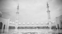 Grand (Bartholomew K Poonsiri) Tags: white building islam religion uae middleeast wideangle mosque structure abudhabi sheikhzayedgrandmosque sonyepz1650mmf3556oss sonyilce6000
