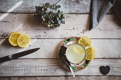 Lemon Tea Still Life (JanetBroughton) Tags: stilllife food lemon fromabove topdown lemontea stilllifephotography flatlay sonya99 manchesterfoodphotographer