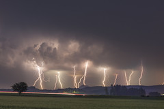When the Lightning stikes! (Wetterfotografie Bastian Werner) Tags: wetter werner stormchasing bastian stormchaser sturmjger wetterfotografie wetterfotograf