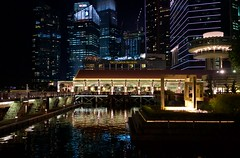 Marina Bay, Singapore (zanydog) Tags: marina bay merlion marinabay singaporemerlion singaporenightscenery sonyrx1singaporesingapore