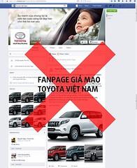 SHARE & SHARE KHUYN CO V FANPAGE GI MO TOYOTA VIT NAM Hin nay, trn Facebook xut hin mt fanpage s dng tn gi v cc hnh nh tng t fanpage chnh thc ca Toyota Vit Nam  truyn b thng tin tng 80 xe Land Cruiser Prado cho 80 khch hn (toyotabenthanhonline) Tags: ben toyota thanh xe trong gi khu nc tphcm nhp