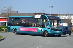 Arriva Optare Solo 714 MX12KVK - Widnes (dwb transport photos) Tags: bus solo widnes 714 arriva optare mx12kvk