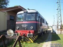 H-FLOYD 0600 949-5 Vmosgyrk, 2010. 08. 23. (2) (petrsbence) Tags: hungary zug trains pinkfloyd bahn railways vonat vast vmosgyrk hfloyd dieselmozdony