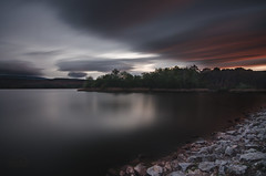 From Hell (michelangelo_84) Tags: longexposure red sky espaa orange storm water clouds forest dark grey spain agua nikon rocks awesome hell silk le cielo nubes tormenta logroo seda oscuridad larioja infierno largaexposicion sigma1020 d5100