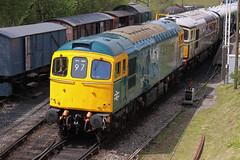 33201 + D6515 Norden (daveymills31294) Tags: diesel 33 norden railway class 330 gala swanage 2016 332 33012 33201 d6515