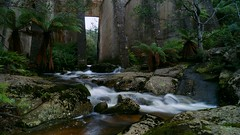 Mt Paris Dam (Emily Rainbow-Nordern) Tags: paris river photography waterfall mt dam tasmania tassie derby