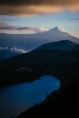 Volcan Villarrica (Fluid Light Images) Tags: chile park travel parque mountain lake landscape volcano outdoor national villarrica pucon volcan