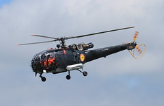 M-2 (zeek_xvs1100) Tags: airport air iii belgian 23 component alouette runway m2 southend defence departing sa316b egmcsen