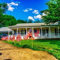 Patriotic (m16brooks) Tags: america unitedstates sony americanflag patriotic american redwhiteandblue hdr memorialday hdrphotography sonya6000