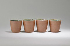 Tea-Bowl-green-brown-01 (cdkceramic) Tags: brown green ceramic teabowl    cdkceramic