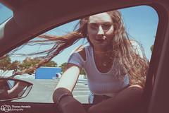 Summer in the city | Model: Bahar ztrk (thendele) Tags: portrait people woman sexy girl face female cool model gesicht shoot outdoor shooting frau carpark parkplatz modell mdchen tyres parkhaus parkingplace parkdeck reifen hankook