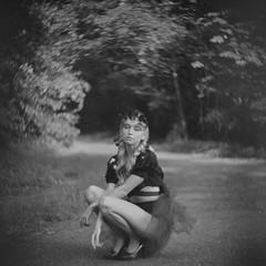 (Ivanichek.com Retrospective images) Tags: blackandwhite bw 6x6 film monochrome mediumformat bokeh vignetting swirly petzval petzvar ivanichekpetzvar38120 mediumformatpetzval