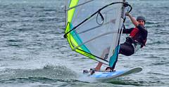 Sliding on Waves (kaprysnamorela) Tags: lake toronto ontario canada water nikon windsurfing twc cherrybeach nikond3300