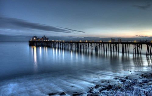 HDR Malibu Landscapes/Seascapes Shot With Nikon D3X & 14-24 mm Nikkor Wide-Angle 2.8