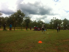 """Tryouts at Ramingining • <a style=""""font-size:0.8em;"""" href=""""https://www.flickr.com/photos/64883702@N04/6971190172/"""" target=""""_blank"""">View on Flickr</a>"""