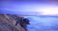 Praia do Guincho (Jos Henriques | Photography) Tags: ocean longexposure sunset summer sun beach landscape nikon tokina cokin d40 1116mm ilustrarportugal