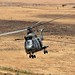 RAF Puma Helicopter on Exercise Askari Thunder in Kenya
