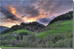 ... welcome home ... (heinz.rucker) Tags: blue sky mountain tree verde berg azul clouds landscape austria sterreich himmel wolken valley grn blau landschaft sonne schnberg baum steiermark tal styria untergang murau lachtal gebierge