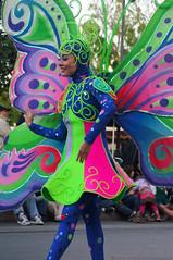 Soundsational! - Butterfly Dancer (ThatDisneyLover) Tags: california dancers disneyland peterpan dancer disney parade peter pan performers 2012 disneylandcalifornia paradeperformers disneylandresortcalifornia soundsational soundsationalparade