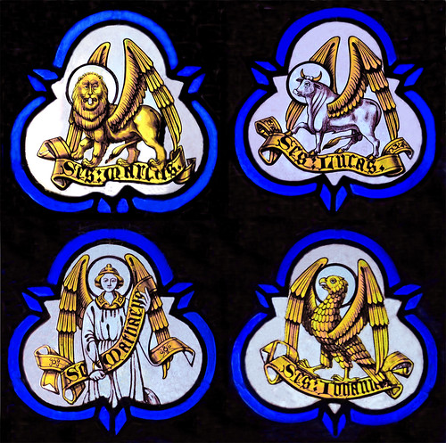 Symbols Of The Four Evangelists Strtin Of Tours Elworthy A