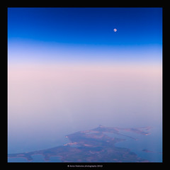 Fly Me To The Moon (stella-mia) Tags: sunset sun moon norway fly moonrise flymetothemoon 70200mm hightlight canon5dmkii annakrmcke krmcke