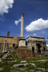 """Roman Forum - Column of Phocas • <a style=""""font-size:0.8em;"""" href=""""http://www.flickr.com/photos/89679026@N00/7116823583/"""" target=""""_blank"""">View on Flickr</a>"""