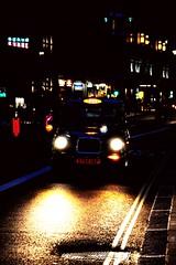 london of lights (bNat!) Tags: street light london luz night dark lights luces noche calle cab taxi asphalt asfalto carrer nit llum llums fosc oscuro asfalt lightsoflondon colorsofthenight steetsoflondon