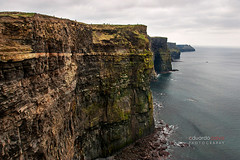 Cliffs of Moher (eduardocalvo) Tags: ocean ireland sea irish cliff color colour galway weather stone clouds wonder clare waves cliffs atlantic height moher