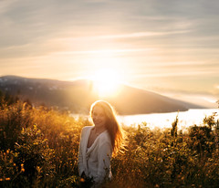 (Sophia Alexis) Tags: alexis light sunset portrait girl smile norway photoshop self canon hair eos 50mm sigma 7d 365 sophia cs5