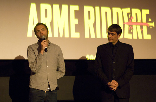 Director Magnus Martens and EIFF Senior Programmer Niall Greig Fulton at the premiere of Jackpot, Cineworld Edinburgh