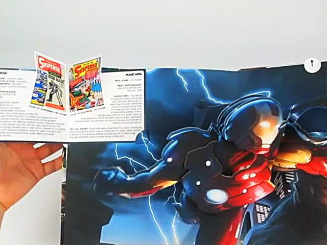 Jumping Jack Press - 驚奇漫畫:超級英雄 VS. 超級反派立體書