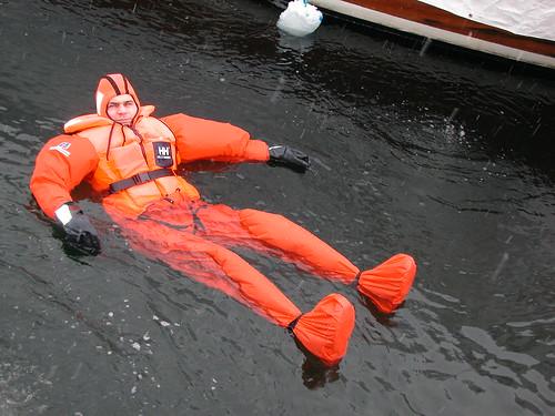vinter redningsvest redningsdrakt forebyggende pasasjerdrakt