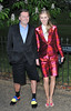 Donna Air and guest The Serpentine Gallery Summer Party held in Hyde Park - Arrivals. London, England