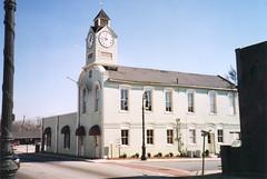 Barnesville, Ga. City Hall (bamaboy1941) Tags: cityhallclocktower barnesvillega cityhalltownhall clocks structuresofthesouth