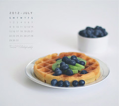 JULY Calendar (Faisal | Photography) Tags: life white breakfast eos still soft dof bokeh 14 strawberries blueberry usm 50 tones ef waffle ef50mmf14usm 50d canoneos50d julycalendar faisal|photography