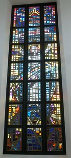 Stained glass window, Lumen United Reformed Church, Tavistock Place