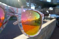 reflection sunglasses jamie sydney australia circularquay sydneyoperahouse letsbook
