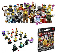 LEGO Minifigures Series 8 - 8833 (THE BRICK TIME Team) Tags: brick toy lego minifig spielzeug minifigures tuete 8833 minifiguren