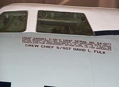 54-0177 C-121C Constellation (Irish251) Tags: usa museum virginia aircraft aviation va steven hazy chantilly udvar nasm